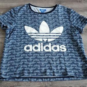 Adidas Originals Trefoil Allover Print T-Shirt
